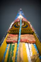Colorful Boat, Dal Lake, Srinagar, Kashmir, India