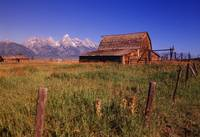 Old Barn, Grand Teton National Park, Wyoming, USA