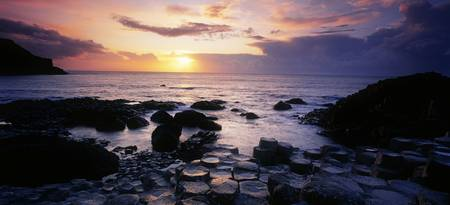 Rocks On The Beach, Giant's Causeway, County Antr