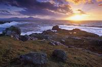 Evening At Breasty Bay Near Malin Head, County Don