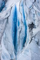 Close up detail of Shoup Glacier, Shoup Bay State