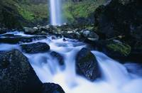 Elowah Falls, Columbia River Gorge, Oregon, Usa