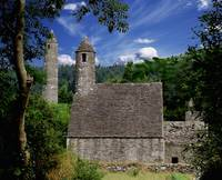 Chapel Of Saint Kevin At Glendalough, Ireland