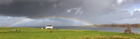 Rainbow, Island Of Iona, Scotland