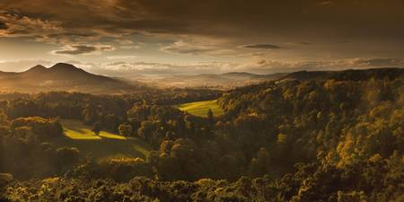 Scots View, Scottish Borders, Scotland