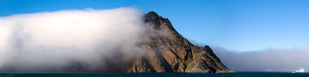 Cloud Covering A Mountain, Greenland