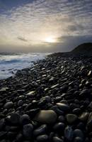 Pebble Beach At Sunset, Doolin, County Clare, Irel