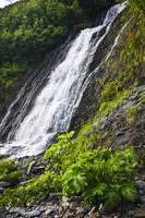 Waterfall in Shoup Bay State Marine Park, Prince W