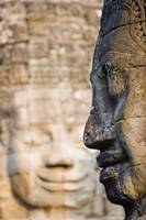 Profile Of Avalokiteshvara Statue From Bayon Templ