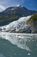 Cascade glacier and Chugach Mountiains in Barry Ar
