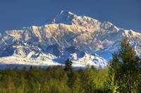 Southside view of Mt. McKinley as seen from Talkee