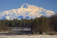 Denali from Talkeetna, Alaska