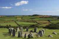 Drombeg Stone Circle Near Glandore In West Cork, C
