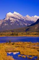 Vermilion Lakes And Mount Rundle In Banff National