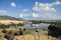 Hawaii, Oahu, Yokohama Bay, Waianae, Rocky Beach A