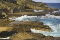 Hawaii, Southeast Oahu, Portlock Coast, Ocean Cras