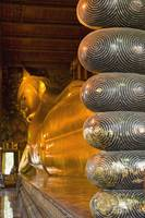 Detail Of Toes Of Large Reclining Buddha, Bangkok,