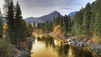 River Of Gold, Leavenworth, Washington, USA