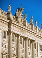 Ornate Exterior Of Palacio Real, Royal Palace