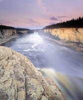 Alexandra Falls, Hay River, Northwest Territories,