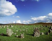 Stone Circles On A Landscape, Beaghmore Stone Circ