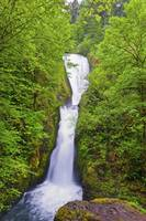 Bridal Veil Falls In Columbia River Gorge National