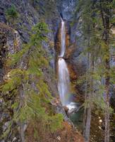 Silverton Waterfalls Banff National Park, Alberta,
