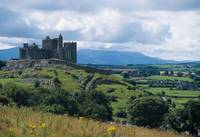 Rock Of Cashel, Ireland, Landscape With The Rock O