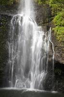 Hawaii, Maui, Hana, Close Up Of Wailua Falls