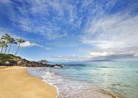 Hawaii, Maui, Makena, Secret Beach, Turquoise Ocea