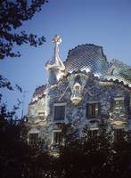 Casa Batllo At Dusk
