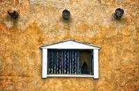 Single Window On Adobe Wall, New Mexico