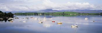 Bantry Bay, County Cork, Ireland Boats In Bay