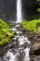 Latourell Falls In The Columbia River Gorge Nation