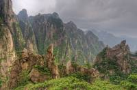 Rocky Landscape, Huangshan, China