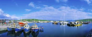 Dingle Town and Harbour, Co Kerry, Ireland