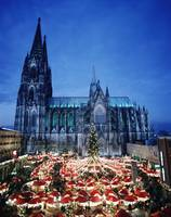 Cologne Cathedral And Christmas Market, Germany