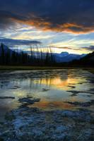 Vermillion Lakes, Outside Of Banff, Alberta, Canad