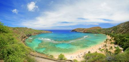 Hawaii, Oahu, Seascape Overlooking Hanauma Bay