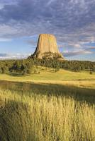 Sunset On Devils Tower Wyoming, USA