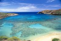 Hawaii, Oahu, Hanauma Bay State Park, View From Ab