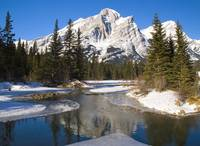 Mount Kidd, Banff National Park, Alberta, British