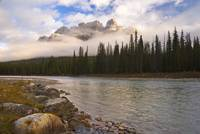Mountain Landscape, Banff National Park, Alberta,