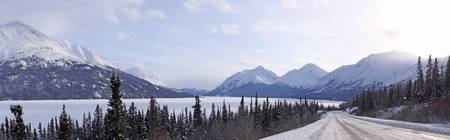 Panoramic View Looking South On The South Klondike