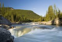 Waterfall, Elbow River, Kananaskis Country, Albert