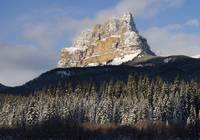 Castle Mountain, Banff National Park, Banff, Alber