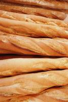 Baguettes In A Patisserie In Paris, Close-Up