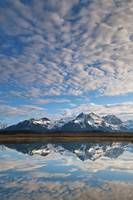 Alaganik Slough Reflecting The Chugach Mountains,
