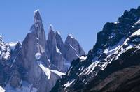 Snow Covered Mountains, Patagonia, Argentina