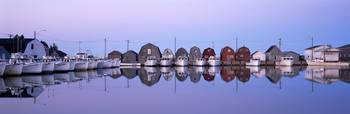 Malpeque Harbour At Dawn, Prince County, Prince Ed